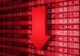 decrease of a Bitcoin rate